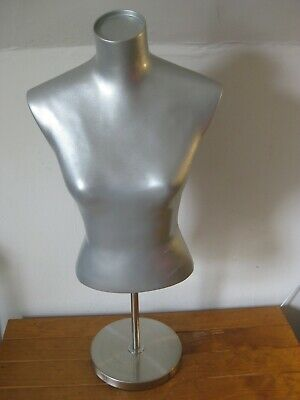 Adjustable Female Mannequin (Stable Metal Stand) Exc Condition - Max Ht 90 cm