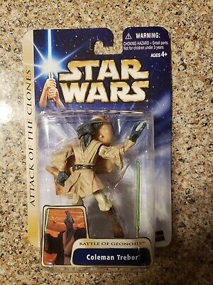 Star Wars Attack Of The Clones Saga Battle Of Geonosis Coleman Trebor Figure