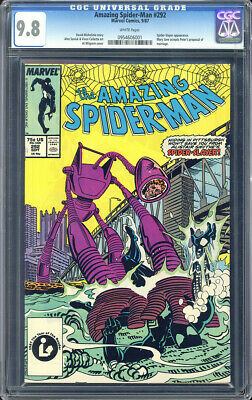 Amazing Spider-Man #397 CGC NM//M 9.8 White Pages