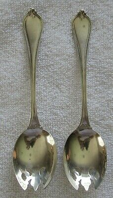 Old Newbury Towle Sterling Silver ice cream fork set of 2