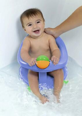Bathtub for baby Support Ergonomic Security in Bath +6 Months Rotating 360