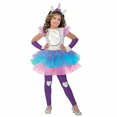 Girls Child Magical Doremi Deluxe Mirabelle Blue Fairy Witch Costume Dress