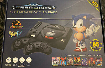 Sega Megadrive Flashback HD 2017 Console with 85 Games Included