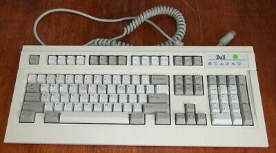 Bull Fujitsu FKB4700 AT keyboard for vintage computer 286 386 486