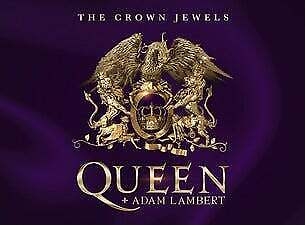 Queen & Adam Lambert tickets - Suncorp Stadium, Brisbane x 3