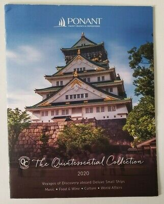 2020 PONANT Yacht Cruises & Expeditions Catalog 18 pages Japan Europe NEW!