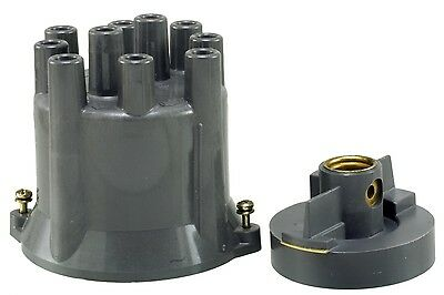 Distributor Cap and Rotor Kit-Premium WVE BY NTK 3D1198A