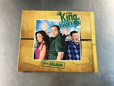 The King of Queens: 9th Season (2 Discs + Bonus) Good Condition. Free Shipping!