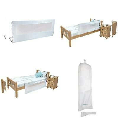 Safetots Extra Tall Bed Rail, White Tall,