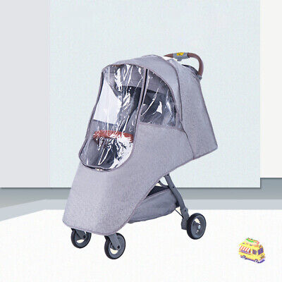 Buggy Rain Cover Universal Raincover For Baby Pushchair Stroller Pram
