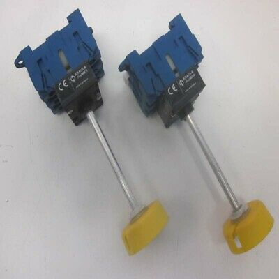Lot of 2 Kraus & Naimer KG20B 25A 600VAC Off/On Manual Motor Disconnect Switch