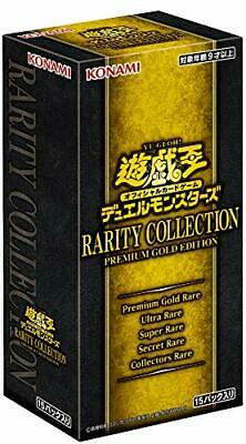 Yu-Gi-Oh OCG Duel Monsters RARITY COLLECTION PREMIUM GOLD EDITIONBOX