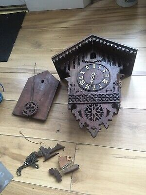 Antique Black Forest Cuckoo Clock (restoration Project)
