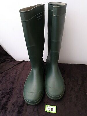 Mens King Fisher Wellington Boots Knee High Wellies, hunting 9/43 heavy outdoor