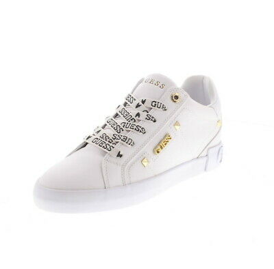 Details about Women's Sneakers GUESS FL5YL2LEA12 Black Leather