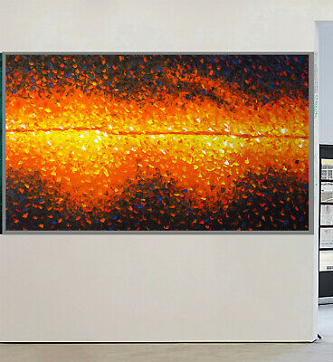 Art Painting oil Canvas Huge Modern Australia landscape abstract not aboriginal