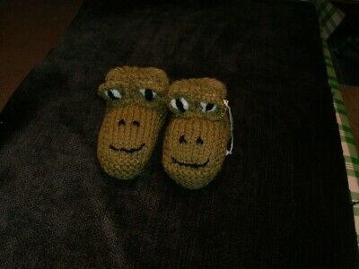 Childs Frog Slippers
