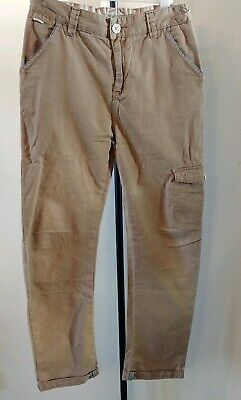 Designer TED BAKER camel/beige trousers, age 12 years