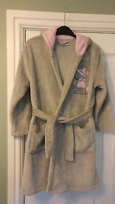 Tatty Teddy Me to You Dressing Gown, Age 7-8, with hood and ears, belt attached
