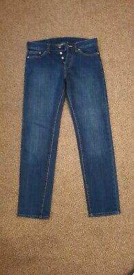 H&M Boys Jeans 28 Waist 30 Leg Slim, Low Waist