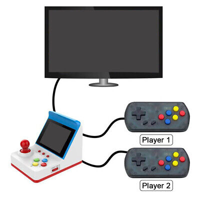 Game Console Portable Joystick Type USB For Kids HDMI Family Handheld Player