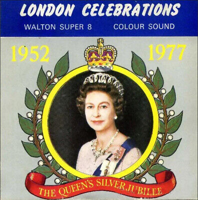 Super 8mm. The Queen´s Silver Jubilee. London celebrations - 200ft