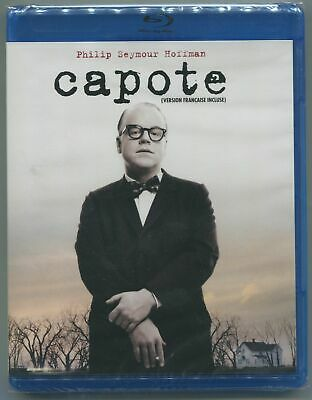 Capote * Philip Seymour Hoffman * Blu-Ray * New & Sealed
