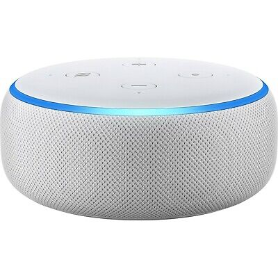 Amazon Echo Dot 3rd Generation Smart Speaker with Alexa - White Sandstone