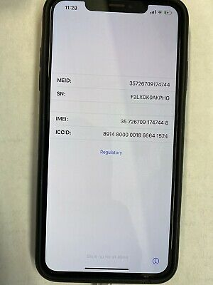 iPhone XS Max Space Gray 256GB Unlocked + Free $129 Apple Brand Charging Case