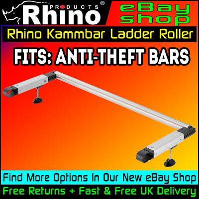 Ladder Roller Citroen Berlingo Roof Rack Bars Rhino Kammbars (L2-LWB) 2008-2018
