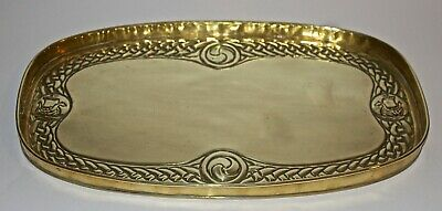 Arts and Crafts Alexander Ritchie Iona brass tray