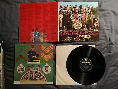 The Beatles - Sgt Peppers Lonely Hearts Club Band  LP Vinyl Record - First Press