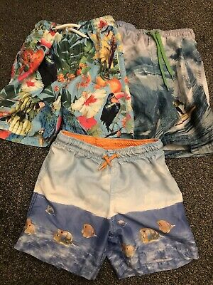 Kids Swimwear Bundle Next And Zara . Age 5. Four Pair Of Swimming Shorts