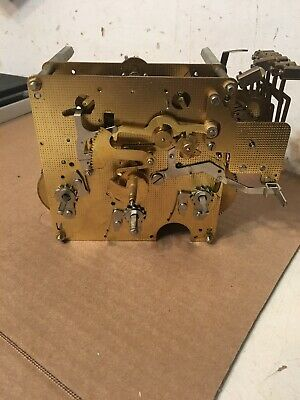 Hermle Triple Chime Wall Clock Movement Parts Westminster Howard Miller Era