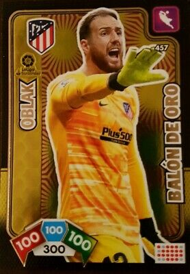 OBLAK BALON DE ORO . Adrenalyn 2019_2020 .