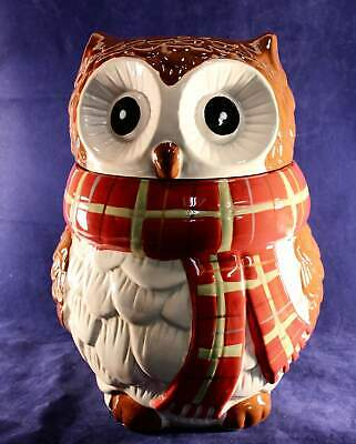 Chilly Billy Owl By Pier One Imports Ceramic Cookie Jar