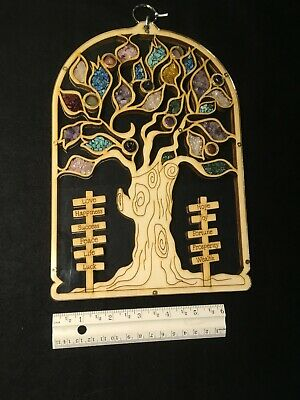 Karma and Luck brand tree of life plaque - Handmade in the Holy Land