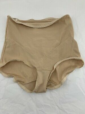 VTG Beige High Waist Slimming Shaping Girdle I'm on a Diet by Subtract Brief