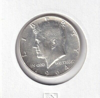 1964 United States - Kennedy Silver Half Dollar - Brilliant Uncirculated Coin 2