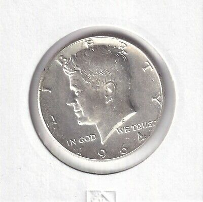 1964 United States - Kennedy Silver Half Dollar - Brilliant Uncirculated Coin 1