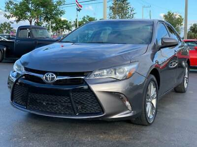2017 Toyota Camry SE 4dr Sedan 2017 Toyota Camry SE Sedan Automatic 4 Cylinder 1OWNER FLORIDA CAR L@@K WOW NICE