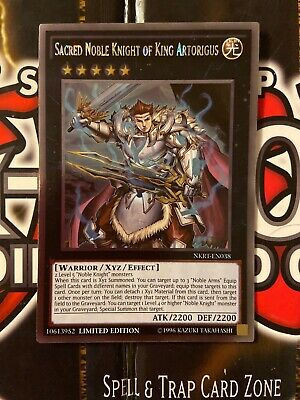 X3 YUGIOH NOBLE KNIGHTS OF THE ROUND TABLE NKRT-EN018 PLATINUM RARE LE