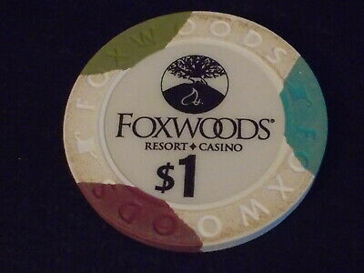 MGM GRAND AT FOXWOODS CASINO $1 hotel casino gaming poker chip ~ Connecticut