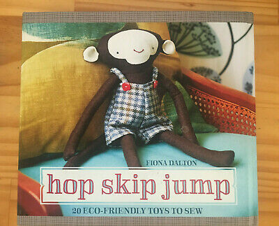 Hop Skip Jump Eco friendly toys to sew pattern book