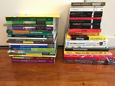 High School VCE books, Fiction and Non,Entertainment/Lifestyle books