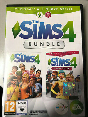 The Sims 4 Nuove Stelle Bundle Gioco Base + Espansione Pal Italiano Nuovo ☆