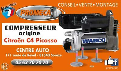 Compresseur C4 Picasso Origine Wabco Suspension Pneumatique 9682022980