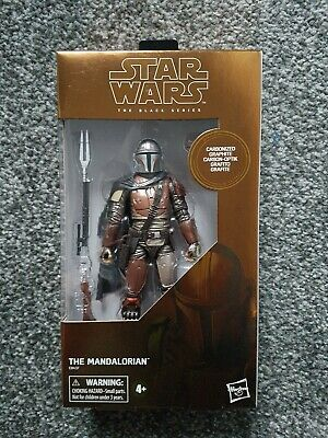 Star Wars The Black Series Mandalorian Carbonized - NEW SEALED MISB EXCELLENT