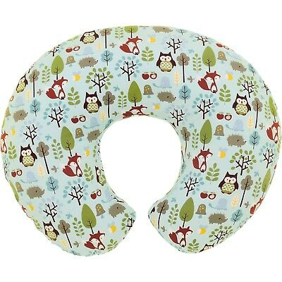 Boppy Nursing/Feeding Pillow with Cotton Slipcover - Woodsie - Warehouse Deal