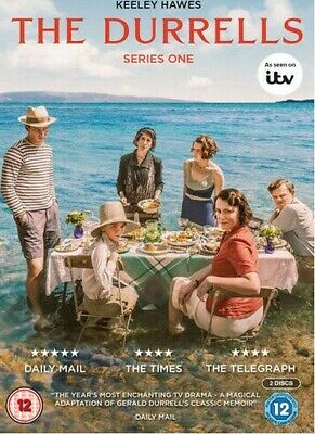 The Durrells Series One DVD (2016) Keeley Hawes **brand new and sealed**